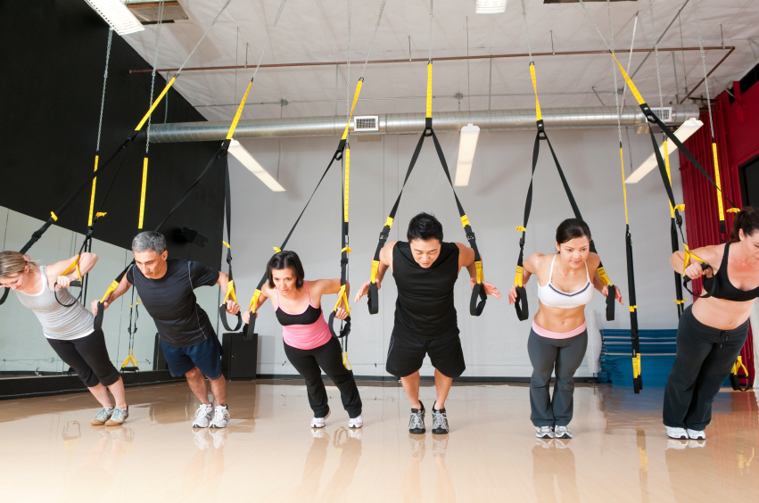 TRX classes at Back To Motion Physical Therapy
