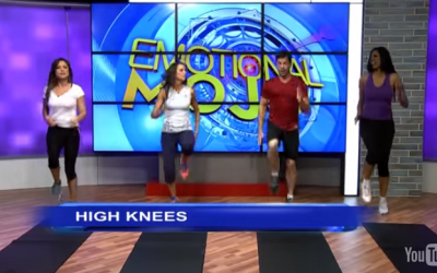 The 7 Minute Workout: Health Benefits of High Knee Running in Place Exercises (Part 9)
