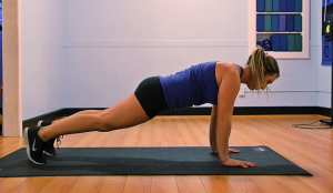 The 7 Minute Workout- plank exercise