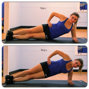 The 7 Minute Workout - side plank