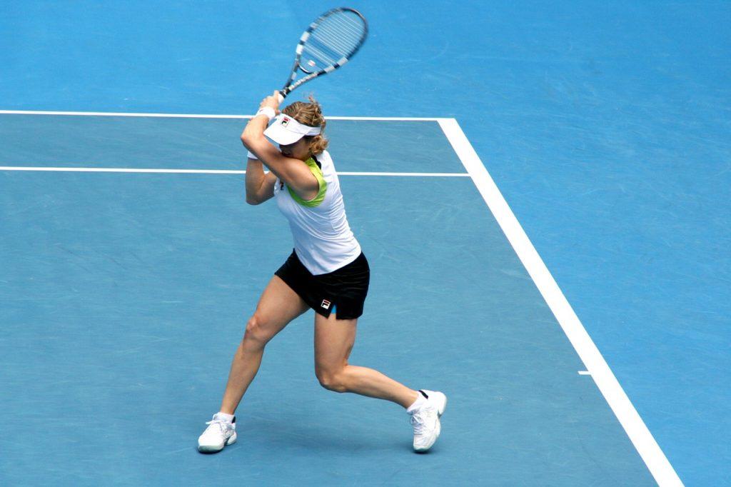 Kim Clijsters tennis core strength