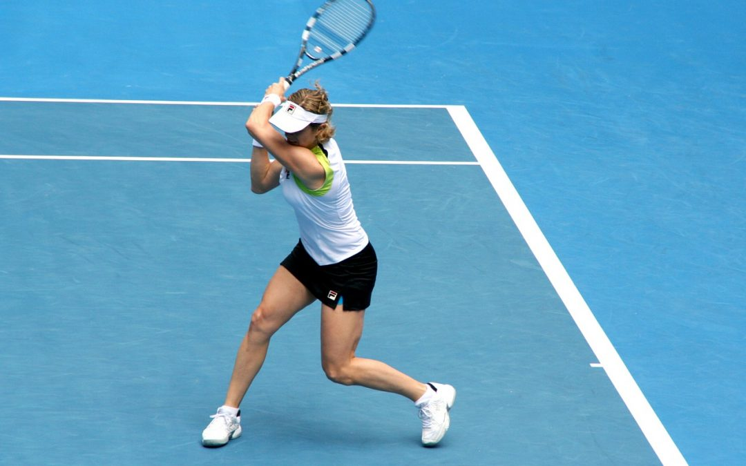 Tennis Players Up Their Game by Building Their Core Strength