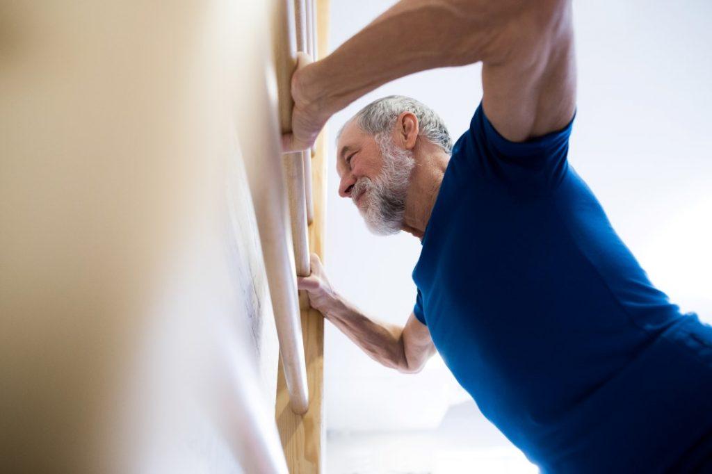 Strong Senior Man
